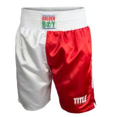Quần đùi boxing Golden Boy Pro Style Boxing Trunks USA/MEXICO