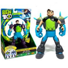 Đồ Chơi Noel – Transforming Ben To Shockrock – Ben 10 Biến Hình – Đồ Chơi Trẻ Em Toy Mart