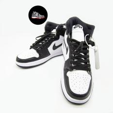 Giày Jordan cao cổ đen trắng, Giày JD 1 cao cổ panda chuẩn xịn cao cấp full box bill