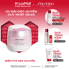 [Ưu đãi ngày 8/3] Gel dưỡng trắng da Shiseido White Lucent Brightening Gel Cream 50ml