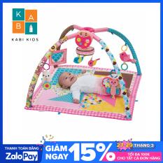{Thảm Infantino US} Thảm nằm cho bé sơ sinh có nhạc và đồ chơi phát triển trí tuệ Infantino Deluxe Twist & Fold 4in1 (USA)