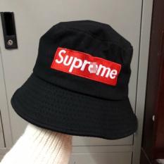 (Ảnh Tự Chụp) Mũ bucket tai bèo nón vành thời trang nam nữ Thêu Superemee cá tính