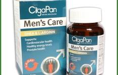 Viên uống tăng cường sinh lý nam Cigapan 30 viên -bổ thận tráng dương Nhung hươu CigaPan Men Care – Hộp 30 viên