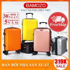 vali kéo du lịch Vali Bamozo BMZ-8801 20inch/24inch nhựa cao cấp – Bảo hành 5 năm