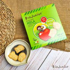 Bánh ăn dặm hữu cơ cho bé vị Táo Bio Junior 132g từ 10 tháng tuổi trở lên
