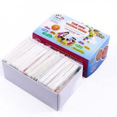 Bộ thẻ học gồm 16 chủ đề 416 thẻ thông minh cho bé theo phương pháp giáo dục sớm – Tặng kèm 01 khuôn ép cơm, làm bánh hình con vật siêu ngộ nghĩnh