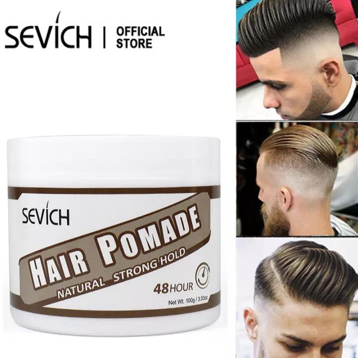 SEVICH Sáp vuốt tóc nam tạo kiểu tóc giữ nếp lâu kiểu cổ điển 100g – INTL