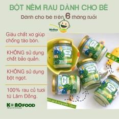 Bột Nêm Dinh Dưỡng Konofood Vị Rau Phomai Cho Bé 6m+