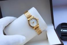đồng hồ nữ halei chất liệu thép không han rỉ RO01221