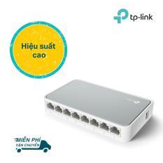 TP-Link Bộ chia tín hiệu 8 cổng 10/100 Mbps Kiểm soát lưu lượng -TL-SF1008D – Hãng phân phối chính thức