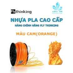 Nhựa PLA in 3D flythinking màu cam trong suốt, mực in 3d orange