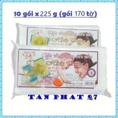 COMBO 10 GÓI KHĂN KHÔ ĐA NĂNG HIỀN TRANG (170 TỜ/ GÓI 225G)