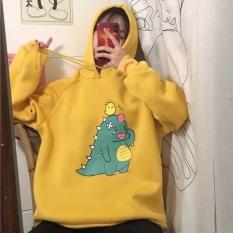 Áo hoodie in hình khủng long khóc nhè , bị sưng đầu siêu dễ thương , chất nỉ dày dặn , đủ màu, form dưới 55kg