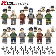 COMBO 12 Minifigures Các Mẫu Nhân Vật Trong Naruto Akatsuki Với Áo Giáp Mẫu Mới KDL804