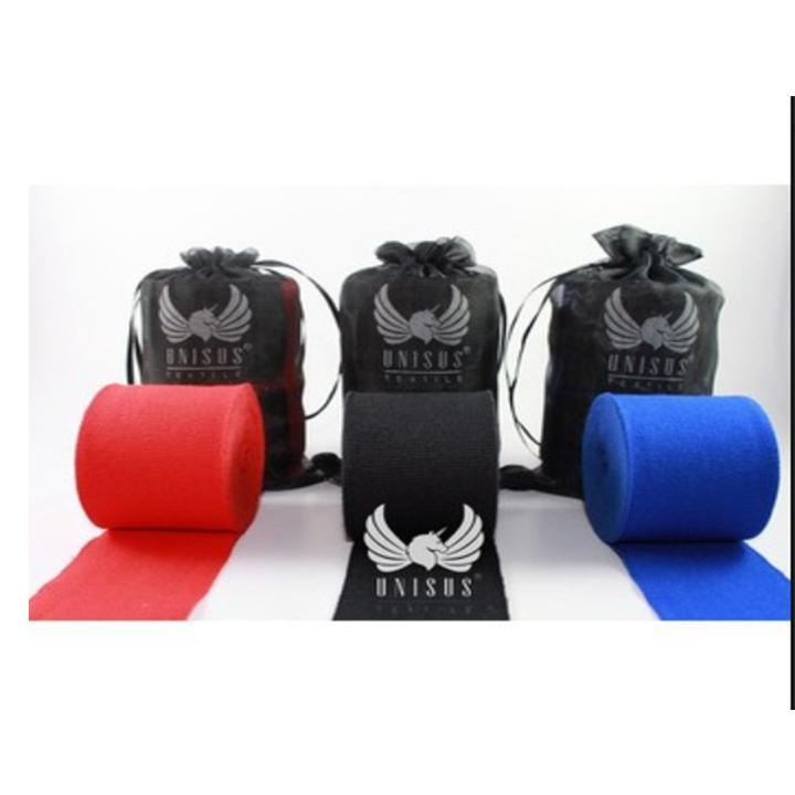 Băng đa vải quấn tay tập võ thuật boxing Unisus US45 dài 4,5m (1 đôi)