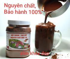 Bột Cacao Đăk Lăk nguyên chất (hũ 500g)