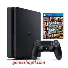 Máy Chơi Game Playstation PS4 Slim 500GB Model 2106A Kèm Game Gta5 – Hãng Phân Phối Chính Thức