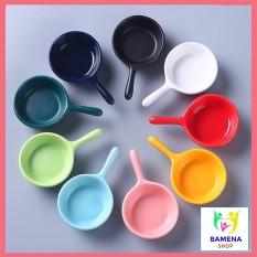 Bát ăn dặm gốm sứ hình gáo mini 30ml nhiều màu sắc cho bé tập ăn kiểu Nhật, cam kết hàng đúng mô tả, chất lượng đảm bảo, an toàn cho người sử dụng