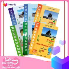Sách học tiếng trung: COMBO giáo trình hán ngữ 6 tập trọn bộ ( Phiên bản mới – Tiếng Trung – Tiếng Việt – Tiếng Anh ) + Tặng Tài Liệu