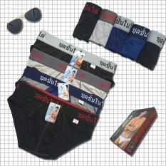 Bộ 10 quần lót nam lưng thái cao cấp – quần sịp nam tam giác hiệu CITYMEN, vải cotton 100% mềm mại, co giãn, thấm hút tốt, lưng cao 4cm (Nhiều màu)