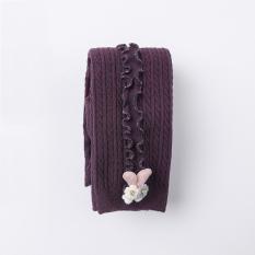Quần tất, legging len dày ZAKUDO REN SỌC DỌC cao cấp, ấm áp và mềm mại phong cách Hàn Quốc cho bé gái QL04