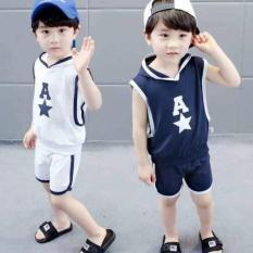 [MẪU MỚI] Bộ chữ A siêu phong cách thời trang thể thao cho bé trai/gái 8-18kg (loại 1)