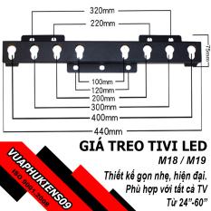 [Nhập ELMAR31 giảm 10% tối đa 200k đơn từ 99k]Giá treo tivi thông minh đa năng 24 – 60 inch M18