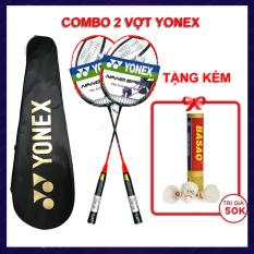 Vợt Cầu Lông Yonex Căng Cước- combo 2 chiếc – Tặng ngay hộp cầu Ba Sao 10 quả(Giao màu cây vợt ngẫu nhiên)