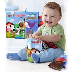 sách vải kích thích thị giác bé sơ sinh