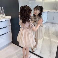 Váy bé gái – Váy kẻ sọc phối ren siêu xinh cho bé 1-5 Tuổi