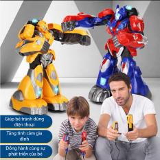 Robot Đấm Bốc Điều Khiển Từ Xa Somatosensory 2.4G, Đồ Chơi Mô Hình Robot Thông Minh Chiến Đấu Bằng tay thật