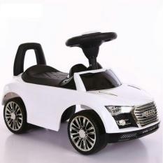 Xe Chòi Chân Ô tô Audi – có nhạc + tựa lưng + thùng đồ – Xe Đạp Vân Nguyễn