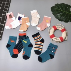 Set 5 đôi tất len thu đông chất cực đẹp cho bé yêu 1-3 tuổi