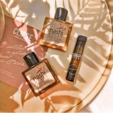 Bộ dầu gội xả và tinh dầu chăm sóc tóc Nashi Argan Travel Kit – Hàng chính hãng