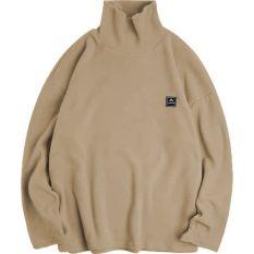 Áo Sweater Cao cổ Oversize Amrine, JACKLANE, Áo dài tay Unisex Jack Lane