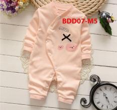 Bộ áo liền quần dài tay cao cấp cho bé sơ sinh -12 tháng BDD07