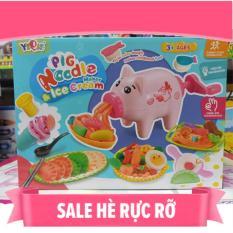 Đồ chơi đất nặn YIQIS – 2 mẫu lựa chọn Pig Noodle & Delicious Restaurant