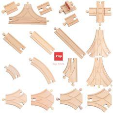 Các chi tiết mở rộng, phụ kiện mô hình đường ray xe lửa gỗ