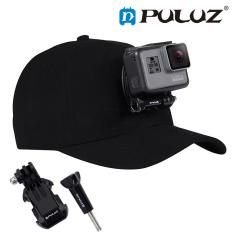 Mũ bóng chày nón lưỡi trai gắn GoPro Hero 8/7/6/5/4 hãng Puluz kèm J-Hook mount và Vít dài