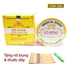Kem Tan Mỡ Cô Bông 250g giảm mỡ eo thon ( Tặng nịt bụng )