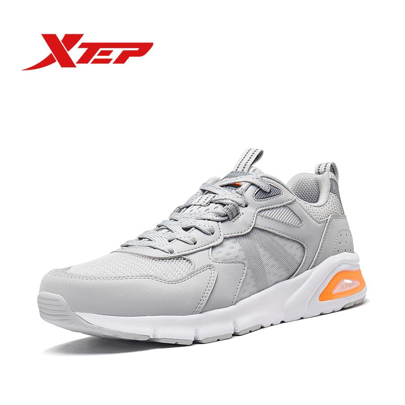XTEP Giày Chạy Bộ Nam Sneaker Lười Thoải Mái 980219320370