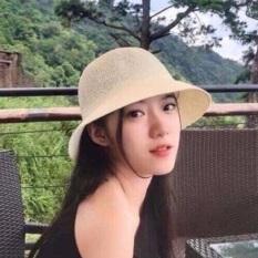 Mũ cói Hàn quốc xinh xắn