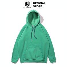 Áo hoodie chính hãng HY Korea chất nỉ bông mềm màu trơn.