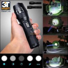 Chiếc đèn pin nổi tiếng của Nhật gây sốt khi giảm giá tại thị trường Việt Nam – Đèn pin siêu sáng XMLT6