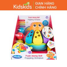 Đồ chơi xe đẩy bóng bạch tuộc Playgro Push Along Ball Popping Octopus, cho bé 12-36 tháng