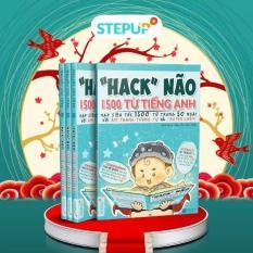 ( BÊN TRONG SÁCH CÓ MÀU ) Hack não 1500 từ vựng tiếng anh 2018 – tặng kèm audio nghe và TK học online