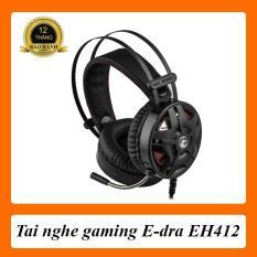 [Ảnh thật] Tai nghe Gaming E-dra EH412