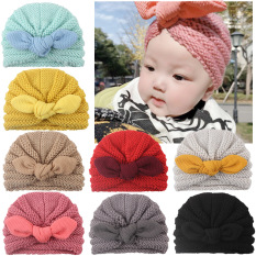 Mũ turban nơ siêu yêu cho bé(0-12 tháng)