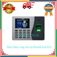 Máy chấm công vân tay Ronald Jack K14- máy chấm công vân tay- máy chấm công thẻ giấy- máy chấm công abrivision- Quản lý đến 2000 dấu vân tay- VISION TECH