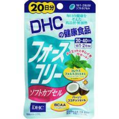 Viên Uống Giảm Cân DHC Coleus (Thêm Tinh Chất Dầu Dừa) 20 Ngày Nhật Bản